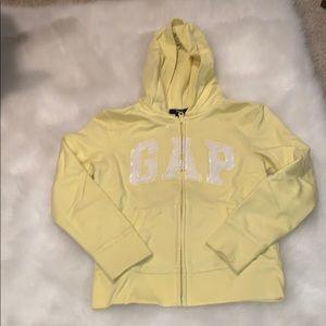 Gap zip up hoodie sz8/9